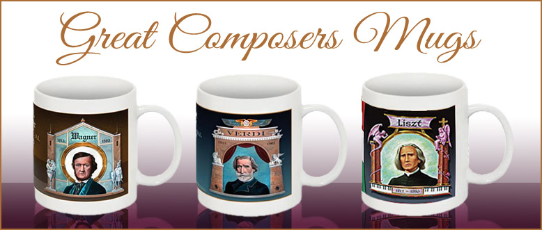 Great Composers Mugs